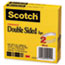 """Scotch™ 665 Double-Sided Tape, 1/2"""" x 1296"""", 3"""" Core, Transparent, 2/Pack Thumbnail 2"""