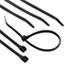 "GB® UVB Heavy-Duty Cable Ties, 15"", 120 lb, UV Black, 50/Pack Thumbnail 1"
