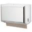 San Jamar® Singlefold Paper Towel Dispenser, White, 10 3/4 x 6 x 7 1/2 Thumbnail 1