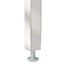 Alera® Double Pedestal Steel Desk, Metal Desk, 72w x 36d x 29-1/2h, Walnut/Black Thumbnail 3