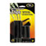 Cord Away® Self-Adhesive Wire Clips, Black, 6/Pack Thumbnail 2