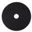 "3M™ Stripper Floor Pad 7200, 20"", Black, 5/Carton Thumbnail 1"