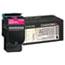 Lexmark™ C540H2MG High-Yield Toner, 2000 Page-Yield, Magenta Thumbnail 1