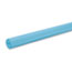 """Pacon® Rainbow Duo-Finish Colored Kraft Paper, 35 lbs., 48"""" x 200 ft, Sky Blue Thumbnail 1"""