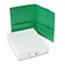 Avery® Two-Pocket Folders, Embossed Paper, Green, 25/BX Thumbnail 2