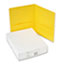 Avery® Two-Pocket Folders, Embossed Paper, Yellow, 25/BX Thumbnail 2