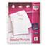 Avery® Three Ring Binder Pockets, Clear, 5/PK Thumbnail 1