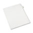 Avery® Individual Legal Dividers Allstate® Style, Side Tab Dividers, Letter Size, #5, 25/PK Thumbnail 1