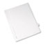 Avery® Individual Legal Dividers Allstate® Style, Side Tab Dividers, Letter Size, #6, 25/PK Thumbnail 1