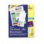 "Avery® Tri-Fold Brochures, Matte, Two-Sided Printing, 8 1/2"" x 11"", 100/BX Thumbnail 1"