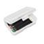 Advantus Gem Polypropylene Pencil Box with Lid, Clear, 8 1/2 x 5 1/2 x 2 1/2 Thumbnail 2