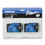 Brother P-Touch® TC Tape Cartridges for P-Touch Labelers, 1/2w, Black on White, 2/Pack Thumbnail 1