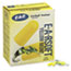 3M™ E·A·Rsoft Yellow Neon Soft Foam Earplugs, Uncorded, Regular Size, 200 Pairs Thumbnail 2