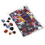 Chenille Kraft® Gemstones Classroom Pack, Acrylic, 1 lbs., Assorted Colors/Sizes Thumbnail 1
