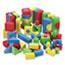 Chenille Kraft® WonderFoam Blocks, Assorted Colors, 68/Pack Thumbnail 1