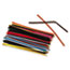 """Chenille Kraft® Regular Stems, 6"""" x 4mm, Metal Wire, Polyester, Assorted, 100/Pack Thumbnail 2"""