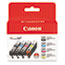 Canon® 2946B004 (CLI-221) Ink, Black/Cyan/Magenta/Yellow, 4/PK Thumbnail 1