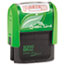 COSCO 2000PLUS® 2000 PLUS Green Line Message Stamp, Posted, 1 1/2 x 9/16, Red Thumbnail 1