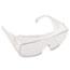 Crews® Yukon Safety Glasses, Wraparound, Clear Lens Thumbnail 1