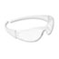 Crews® Checkmate Wraparound Safety Glasses, CLR Polycarbonate Frame, Coated Clear Lens Thumbnail 2
