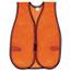 "MCR™ Safety Orange Safety Vest, Polyester Mesh, Hook Closure, 18"" x 47"", One Size Thumbnail 1"
