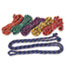 Champion Sports Braided Nylon Jump Ropes, 8ft, 6 Assorted-Color Jump Ropes/Set Thumbnail 1