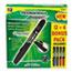 Ticonderoga® RediMark+ Permanent Marker, Chisel Point, Black Ink, 12/PK Thumbnail 2
