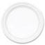 "Dart® Plate, Plastic, 10 1/4"", White, Famous Service®, 500/CT Thumbnail 1"