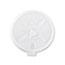 Dart® Translucent Lids for 12-24oz Foam Cups, Straw Slot, 1000/Carton Thumbnail 2