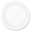 "Dart® Plate, Concorde Foam, 6"", White, 1000/Carton Thumbnail 1"