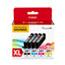 Canon® CLI-281XL, Ink, Black/Cyan/Magenta/Yellow Thumbnail 1