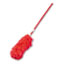 """Boardwalk® Lambswool Extendable Duster, Plastic Handle Extends 35"""" to 48"""", Assorted Colors Thumbnail 1"""