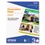 Epson® Matte Presentation Paper, 27 lbs., Matte, 8-1/2 x 11, 100 Sheets/Pack Thumbnail 1