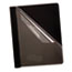 Oxford™ Premium Paper Clear Front Cover, 3 Fasteners, Letter, Black, 25/Box Thumbnail 1