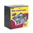 Fellowes® Slim Jewel Case, Clear/Black, 100/Pack Thumbnail 1