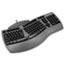 Fellowes® Ergonomic Split-Design Keyboard w/Antimicrobial Protection, 105 Keys, Black Thumbnail 2