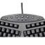 Fellowes® Ergonomic Split-Design Keyboard w/Antimicrobial Protection, 105 Keys, Black Thumbnail 4