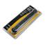 Fellowes® 7-Outlet Metal Power Strip,125V, 12ft Cord, 14 1/4 x 2 1/8 x 1 3/4, Black/Silver Thumbnail 2