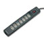 Fellowes® Power Guard Surge Protector, 7 Outlets, 6 ft Cord, 1600 Joules, Gray Thumbnail 1