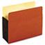 Pendaflex® File Pocket with Tyvek, Top Tab, Straight Cut, 1 Pocket, Letter, Brown, 10/BX Thumbnail 1