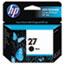 HP 27 Ink Cartridge, Black (C8727AN) Thumbnail 1