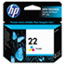 HP 22 Ink Cartridge, Tri-color (C9352AN) Thumbnail 1