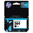 HP 564 Ink Cartridge, Black (CB316WN) Thumbnail 1