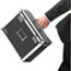 Vaultz® Locking File Tote Storage Box, Letter, 13-3/4 x 7-1/4 x 12-1/4, Black Thumbnail 3