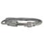Innovera® Indoor Heavy-Duty Extension Cord, 9ft, Gray Thumbnail 2