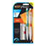 BIC® Velocity Max Pencil, HB2, No. 2, 0.9 mm, Assorted Barrels, 2/PK Thumbnail 1