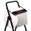 WypAll® Jumbo Roll Dispenser, 16 4/5w x 18 1/2d x 33h, Black Thumbnail 2