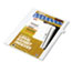 """Legal Tabs 80000 Series Legal Exhibit Index Dividers, Side Tab, """"G"""", White, 25/Pack Thumbnail 2"""