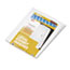 "Legal Tabs 80000 Series Side Tab Legal Index Divider Set, Printed ""Exhibit A""-""Exhibit Z"" Thumbnail 2"