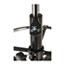 "Alera® Alera Etros Series Mesh Stool, Supports Up to 275 lb, 25.19"" to 35.23"" Seat Height, Black Thumbnail 9"